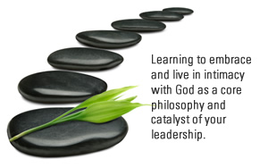 Learning to embrace and live in intimacy with God as a core philosophy and catalyst of your leadership.