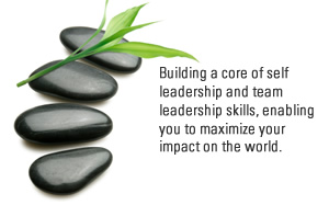 Building a core of self leadership and team leadership skills, enabling you to maximize your impact on the world.